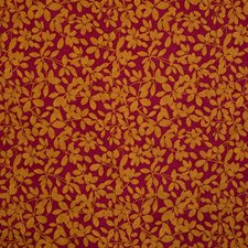 Fuchsia Jacquard Pattern Drapery and Upholstery Fabric by S. Harris