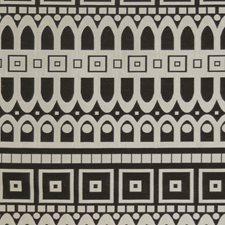 Caviar Geometric Drapery and Upholstery Fabric by S. Harris