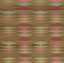 Blush Geometric Drapery and Upholstery Fabric by S. Harris