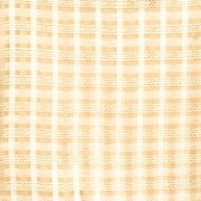 Almond Check Drapery and Upholstery Fabric by S. Harris