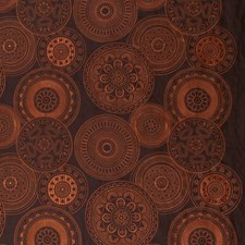 Teak Embroidery Drapery and Upholstery Fabric by S. Harris