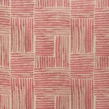 Coral Reef Geometric Drapery and Upholstery Fabric by S. Harris