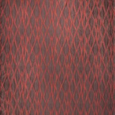 Ember Flamestitch Drapery and Upholstery Fabric by S. Harris