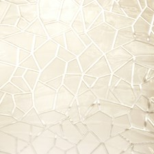 Snow On Straw Geometric Drapery and Upholstery Fabric by S. Harris