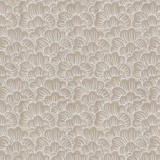 Natural Flamestitch Drapery and Upholstery Fabric by Trend