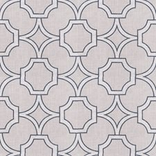 Charcoal Lattice Drapery and Upholstery Fabric by Trend