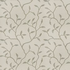 Stone Ivory Embroidery Drapery and Upholstery Fabric by Trend