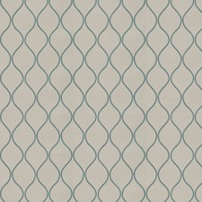 Jade Natural Embroidery Drapery and Upholstery Fabric by Trend