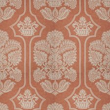 Coral Print Pattern Drapery and Upholstery Fabric by Vervain