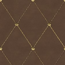 Brown/Yellow Dots Drapery and Upholstery Fabric by Kravet