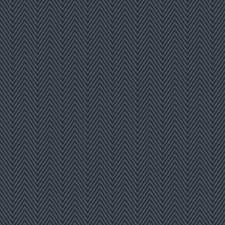 Marine Herringbone Drapery and Upholstery Fabric by Trend