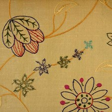 Brass Drapery and Upholstery Fabric by Duralee