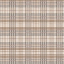 Blush Check Drapery and Upholstery Fabric by S. Harris