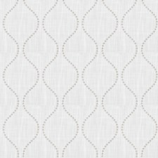 Ecru Embroidery Drapery and Upholstery Fabric by Trend