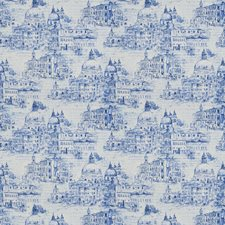 Blue Global Drapery and Upholstery Fabric by Trend