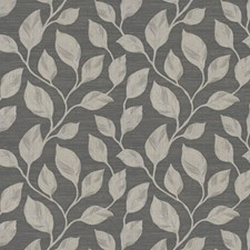 Grey Jacquard Pattern Drapery and Upholstery Fabric by Trend