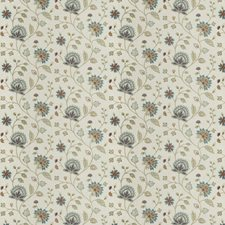 Festival Embroidery Drapery and Upholstery Fabric by Fabricut