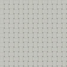 White Geometric Drapery and Upholstery Fabric by Fabricut