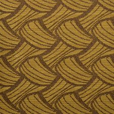 Goldenrod Abstract Drapery and Upholstery Fabric by Duralee