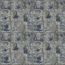 Navy Geometric Drapery and Upholstery Fabric by Fabricut