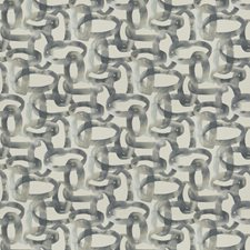 Slate Geometric Drapery and Upholstery Fabric by Fabricut