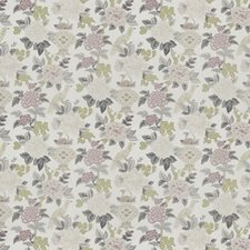Heather Floral Drapery and Upholstery Fabric by Trend