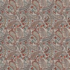 Autumn Spice Paisley Drapery and Upholstery Fabric by Fabricut