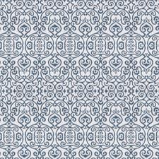 Azure Print Pattern Drapery and Upholstery Fabric by Fabricut