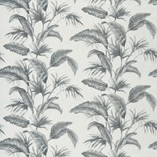Delft Leaves Drapery and Upholstery Fabric by Trend