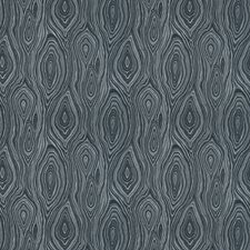 Ink Moire Drapery and Upholstery Fabric by Trend