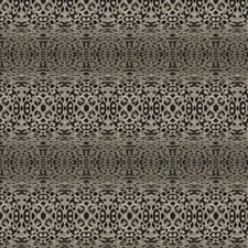 Onyx Animal Drapery and Upholstery Fabric by S. Harris