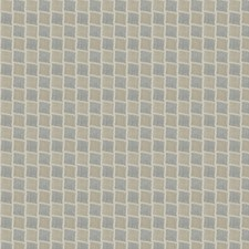 Latte Check Drapery and Upholstery Fabric by Trend