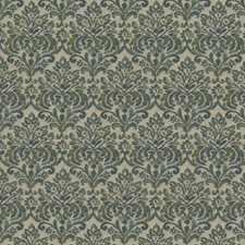 Jade Floral Drapery and Upholstery Fabric by Fabricut