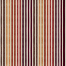 Carnelian Stripes Drapery and Upholstery Fabric by Vervain