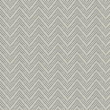 Blue Greige Chevron Drapery and Upholstery Fabric by S. Harris