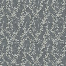 Lapis Floral Drapery and Upholstery Fabric by Trend