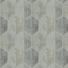 Sterling Geometric Drapery and Upholstery Fabric by Fabricut
