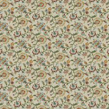 Primavera Floral Drapery and Upholstery Fabric by Trend