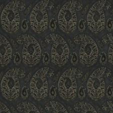 Lapis Paisley Drapery and Upholstery Fabric by Stroheim