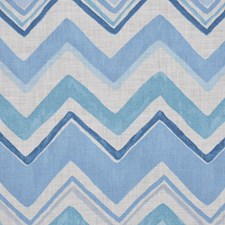 Lulworth Blue Drapery and Upholstery Fabric by RM Coco