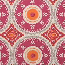 Fuchsia Drapery and Upholstery Fabric by RM Coco