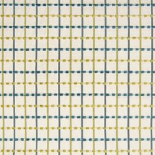 Seaglass Plaid Check Drapery and Upholstery Fabric by Greenhouse