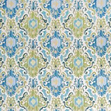 Capri Medallion Drapery and Upholstery Fabric by Greenhouse