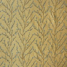 Summer Asian Drapery and Upholstery Fabric by Greenhouse