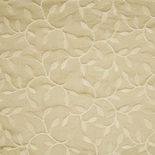 Bisque Foliage Drapery and Upholstery Fabric by Greenhouse