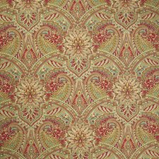 Berry Paisley Drapery and Upholstery Fabric by Greenhouse