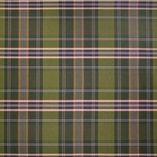 Wine Berry Plaid Check Drapery and Upholstery Fabric by Greenhouse