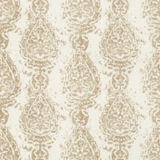 Coconut Paisley Drapery and Upholstery Fabric by Kravet