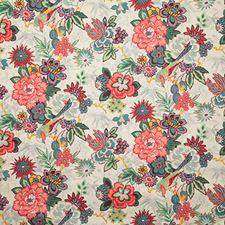 Hibiscus Traditional Drapery and Upholstery Fabric by Pindler