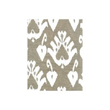 Taupe Damask Drapery and Upholstery Fabric by Andrew Martin